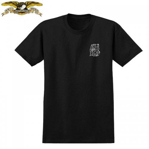半額セール【アンタイヒーロー ANTIHERO スケボーTシャツ】CURB PIT TEE【ブラック】NO116