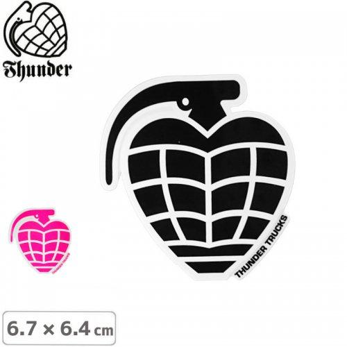 【サンダートラック THUNDERスケボー ステッカー】GRENADE DIECUT【6.7cm×6.4cm】NO51