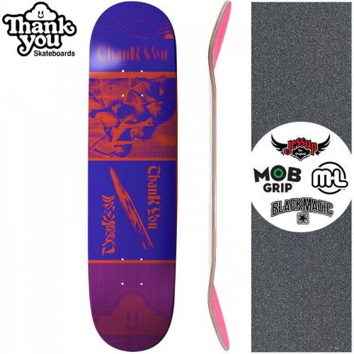 【THANK YOU SKATEBOARDS サンキュー スケボー デッキ】PERSPECTIVES DECK【7.75インチ】NO13