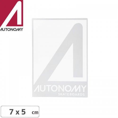 【オートノミー AUTONOMY スケボー ステッカー】AUTONOMY LOGO STICKER 7cm x 5cm NO2