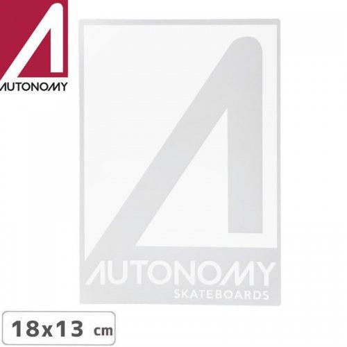 【オートノミー AUTONOMY スケボー ステッカー】AUTONOMY LOGO STICKER 18cm x 13cm NO4