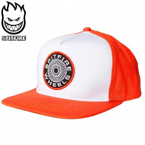 【スピットファイヤー SPITFIRE ベースボールキャップ】CLASSIC 87 SWIRL HAT オレンジ×ホワイト NO79