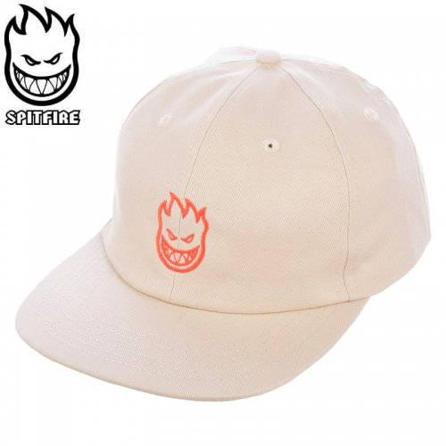 【スピットファイヤー SPITFIRE ベースボールキャップ】LIL BIGHEAD HAT グレー×レッド NO80