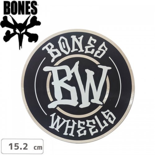 【ボーンズ BONES スケボー ステッカー】BRANDED STICKER【15.2cm】NO61