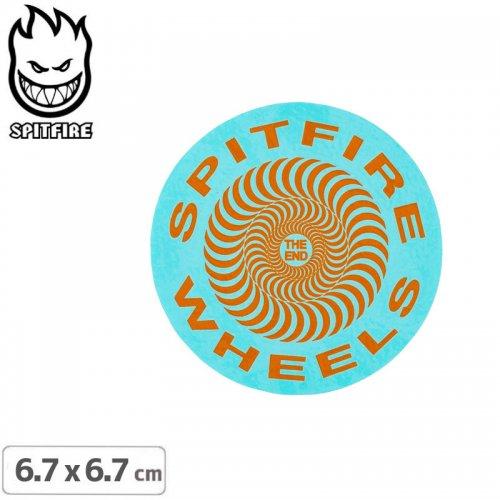 【スピットファイア SPITFIRE スケボー ステッカー】CLASSIC STICKER 6.7cmx6.7cm NO113