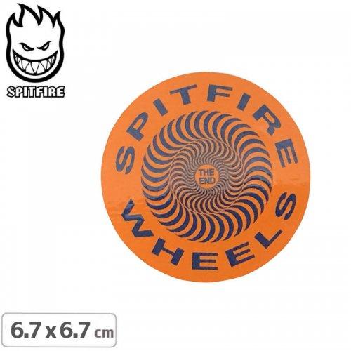 【スピットファイア SPITFIRE スケボー ステッカー】CLASSIC STICKER 6.7cmx6.7cm NO116