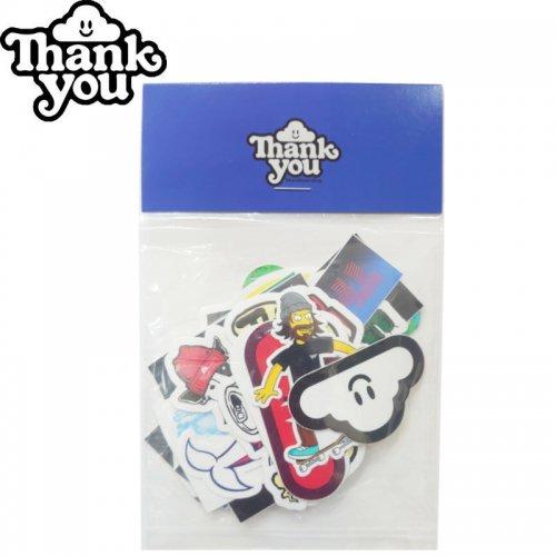 【THANK YOU サンキュー スケボー ステッカー】STICKER PACK【18枚入り】NO3