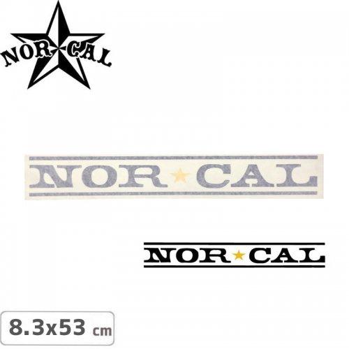 【ノーカル NOR CAL ステッカー】LOGO STICKER【8.3cm x 53cm】NO33