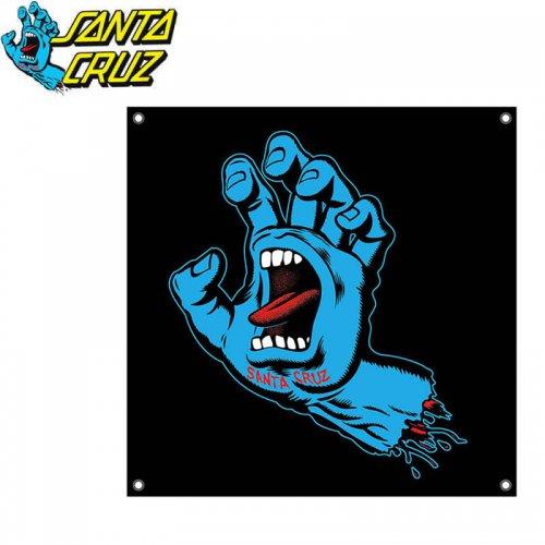 【サンタクルーズ SANTA CRUZ スケボー スケートボード 旗】SCREAMING HAND BANNER 91cm×91cm NO1