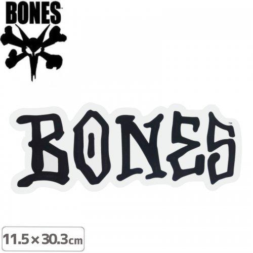【ボーンズ BONES スケボー ステッカー】LOGO STICKER【11.5 x 30.3cm】NO62