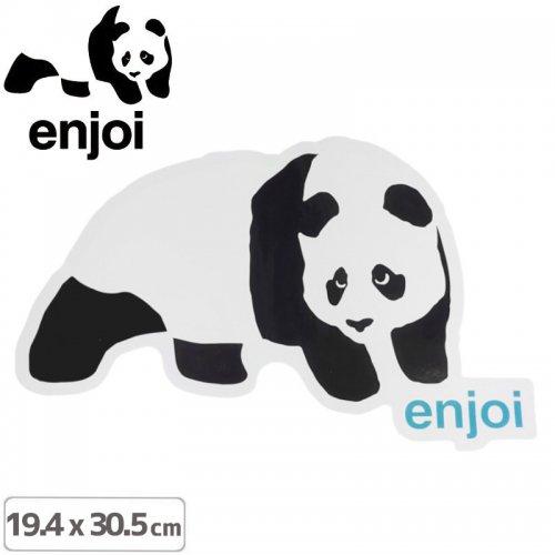 【ENJOI エンジョイ ステッカー】PANDA RAMP STICKER【19.4cm x 30.5cm】NO81