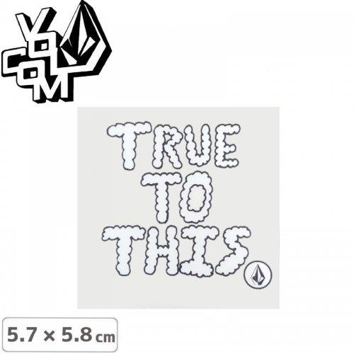 【ボルコム VOLCOM ステッカー】STICKER【5.7cm x 5.8cm】NO380