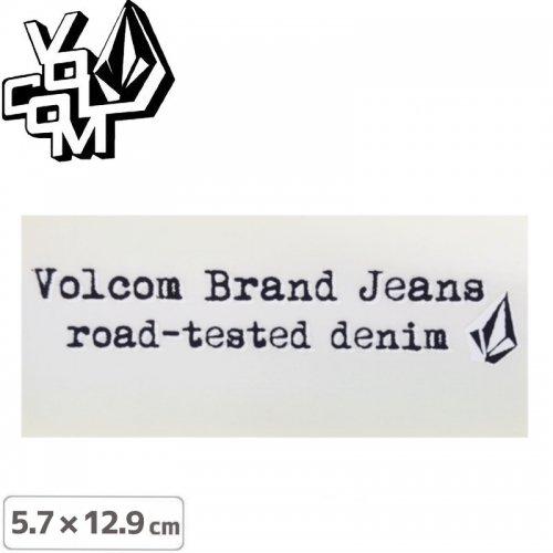 【ボルコム VOLCOM ステッカー】STICKER【5.7cm x 12.9cm】NO385
