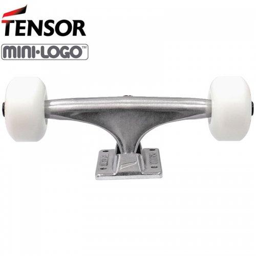 【スケートボード トラック コンプリート テンサー】TENSOR TRUCK & MINI-LOGO WHEEL 101A 足回りセット【5.0】【5.25】NO1