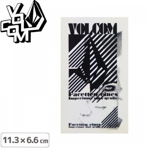 【ボルコム VOLCOM ステッカー】STICKER【11.3cm x 6.6cm】NO389