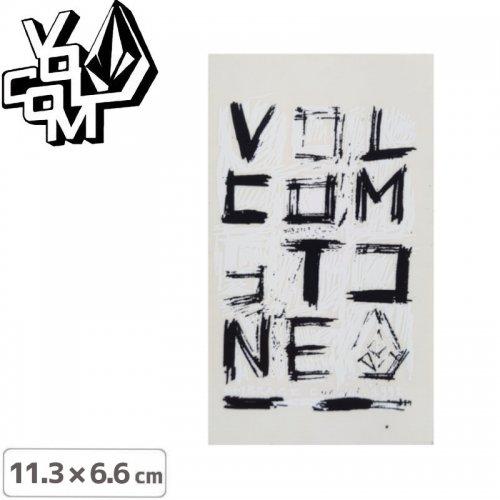 【ボルコム VOLCOM ステッカー】STICKER【11.3cm x 6.6cm】NO390