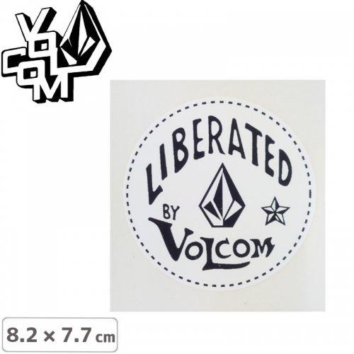 【ボルコム VOLCOM ステッカー】STICKER【8.2cm x 7.7cm】NO394