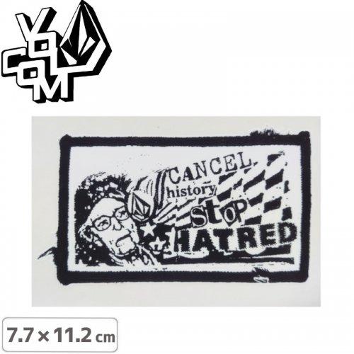 【ボルコム VOLCOM ステッカー】STICKER【7.7cm x 11.2cm】NO396