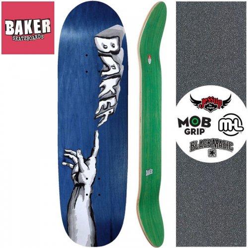 【ベーカー BAKER スケートボード デッキ】CREATION SHAPED DECK【9.25インチ】 ブルー NO279