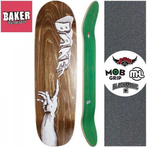 【ベーカー BAKER スケートボード デッキ】CREATION SHAPED DECK【9.25インチ】 ブラウン NO280