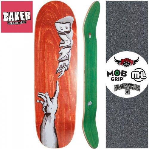 【ベーカー BAKER スケートボード デッキ】CREATION SHAPED DECK【9.25インチ】 オレンジ NO281