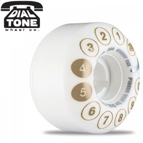 【ダイアルトーン DIAL TONE WHEELS スケボー ウィール】ROTARY STANDARD CRUISER WHEELS 85A【54mm】NO15
