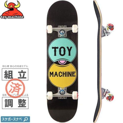 【トイマシーン TOY MACHINE スケボー コンプリート】VENN DIAGRAM COMPLETE【7.75インチ】NO49
