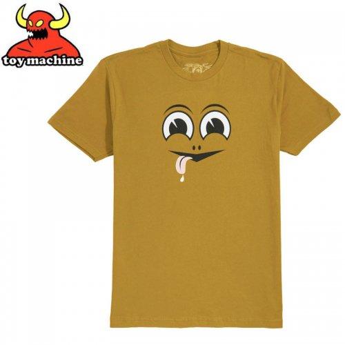 【トイマシーン TOY MACHINE スケボー Tシャツ】HAPPY TURTLE TEE【ジンジャー】NO254