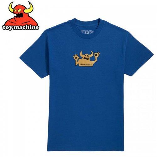 【トイマシーン TOY MACHINE スケボー Tシャツ】OG MONSTER 90'S TEE【ディープオーシャン】NO255