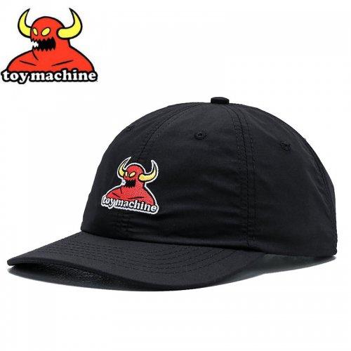 【TOY MACHINE トイマシーン スケボー キャップ】MONSTER STRAPBACK HAT ブラック NO46