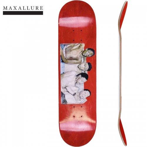 【MAXALLURE マックス アルーア スケボー デッキ】THE ERA COLLECTIONS BLUNTED DECK[8.0インチ]レッド NO18