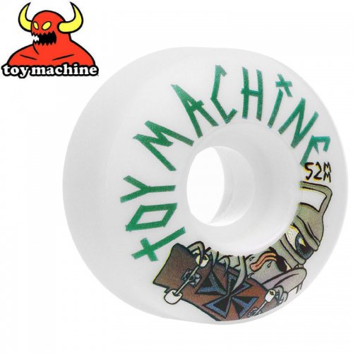 【トイマシン TOY MACHINE ウィール】SECT SKATER WHEEL 100A【52mm】NO47
