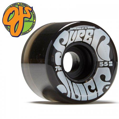 【オージェイ OJ3 クルーザー ウィール】MINI SUPER JUICE TRANS 78A【55mm】ブラック NO51