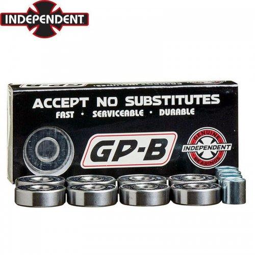 【インディペンデント INDEPENDENT スケボー ベアリング】GP-B 8 BEARING SET ABEC7相当 両面シールド NO6