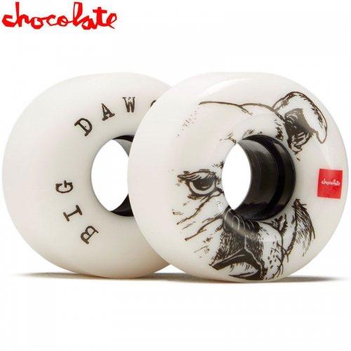 【チョコレート CHOCOLATE スケボー ウィール クルーザー】BIG DAWG CRUISER 80D WHEEL【56mm】NO42