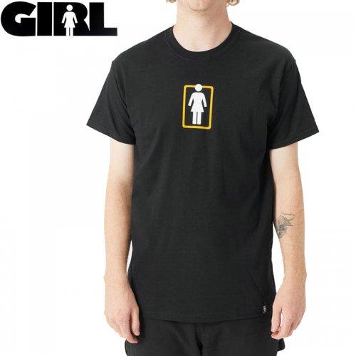 【ガール GIRLSKATEBOARD  スケボー Tシャツ】UNBOXED OG CENTER TEE【ブラック】NO305