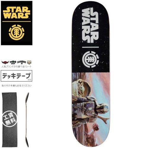 【ELEMENT エレメント スケートボード デッキ】STAR WARS HUNTER AND PREY DECK【8.0インチ】スターウォーズ NO21