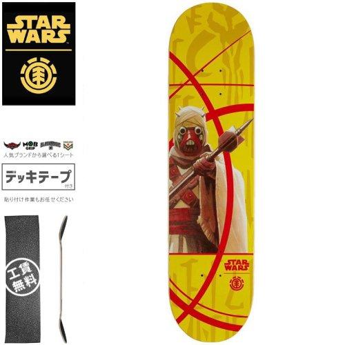 【ELEMENT エレメント スケートボード デッキ】STAR WARS TUSKAN RAIDER DECK【7.75インチ】スターウォーズ NO23