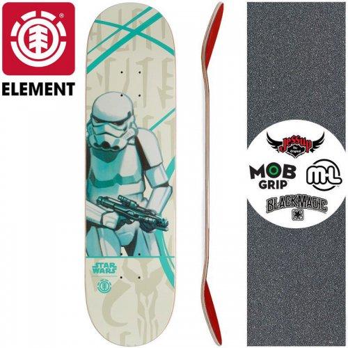 【ELEMENT エレメント スケートボード デッキ】STAR WARS STORM TROOPER DECK【8.0インチ】スターウォーズ NO24