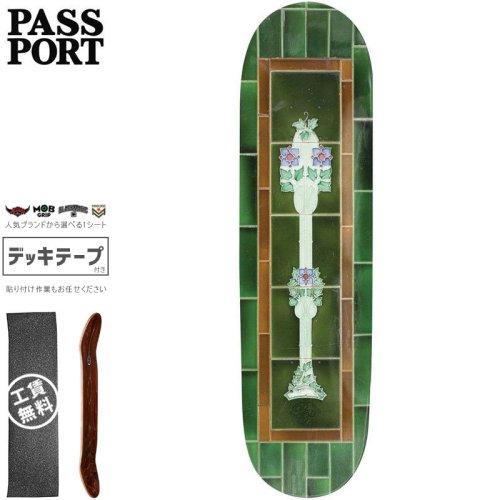 【PASS~PORT パスポート スケートボード デッキ】TILE LIFE GREEN DECK【8.0インチ】NO32