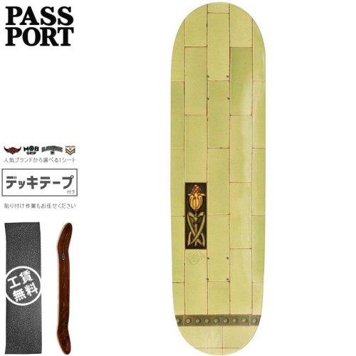 【PASS~PORT パスポート スケートボード デッキ】TILE LIFE LIME DECK【7.875インチ】NO33