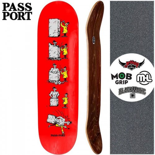 【PASS~PORT パスポート スケートボード デッキ】W.C.W.B.F. BUST DECK【8.0インチ】NO36