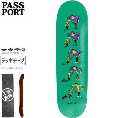 【PASS~PORT パスポート スケートボード デッキ】W.C.W.B.F. THREAD DECK【7.875インチ】NO37