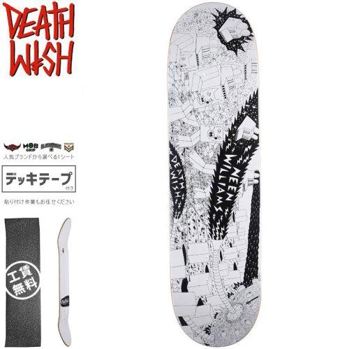 【デスウィッシュ DEATH WISH スケートボード デッキ】HAYES DEATH WAR 3000 DECK【8.3875インチ】NO116