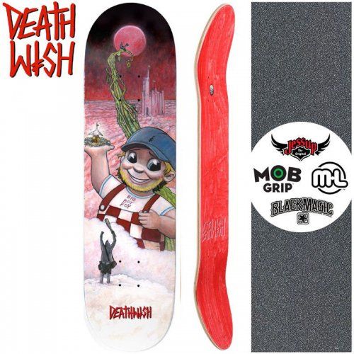 【デスウィッシュ DEATH WISH スケートボード デッキ】FOY FEE-FI-FO FOY DECK【8.0インチ】NO119