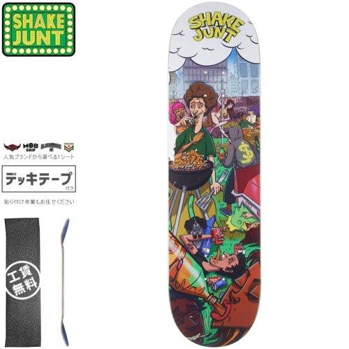 【シェイクジャント SHAKE JUNT スケートボード デッキ】BACKYARD DECK【8.5インチ】NO7