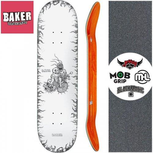 【ベーカー BAKER スケートボード デッキ】SB STIPPLE DECK【8.25インチ】NO283