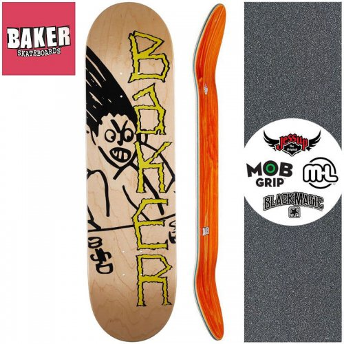 【ベーカー BAKER スケートボード デッキ】BH AGGRO DECK【8.25インチ】NO284