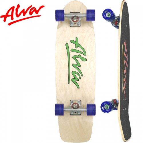 【ALVA SKATES アルバ スケートボード コンプリート】1978 LOST MODEL COMPLETE GREEN【30インチ】NO4