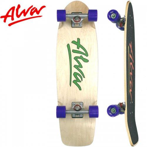 【ALVA SKATES アルバ スケートボード コンプリート】1978 LOST MODEL COMPLETE GREEN【30インチ】NO5